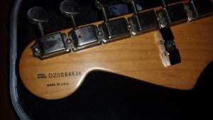 Fender Stratocaster American 2000, custom